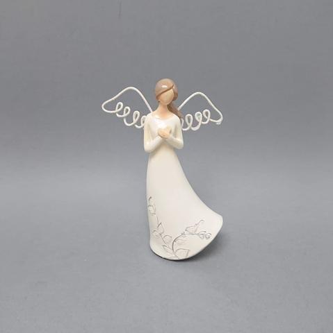 Anděl drátěná křídla 14cm