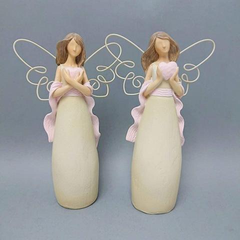 Anděl drátěná křídla 24cm