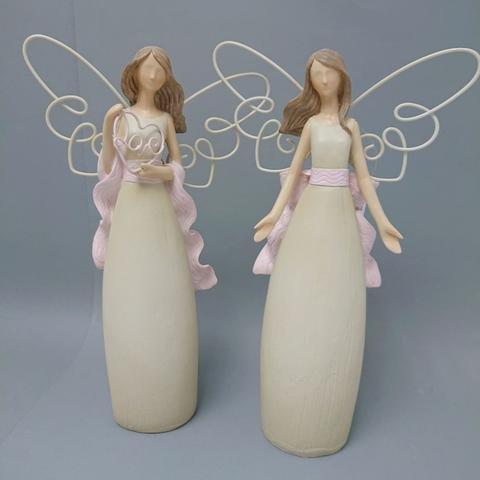 Anděl drátěná křídla 32cm