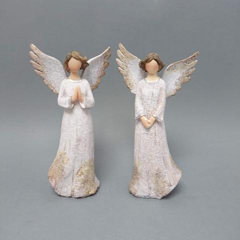 Anděl pozlacená křídla