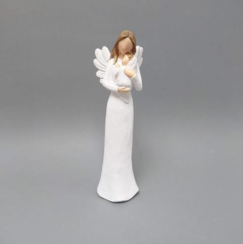 Anděl s miminkem menší