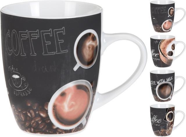Hrnek COFFEE černý 320ml