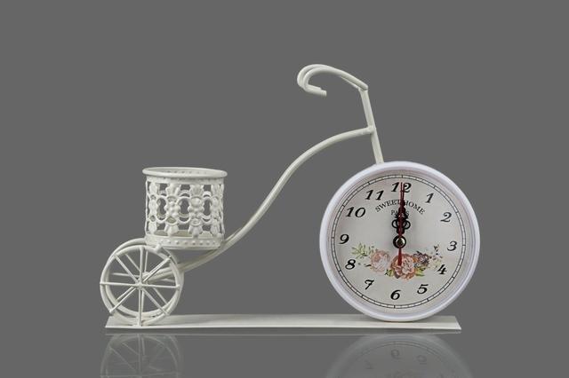 Kolo kovové s hodinami