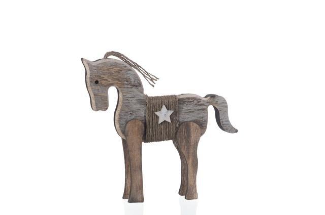 Koník dřevěný menší