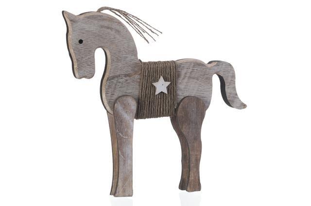 Koník dřevěný velký