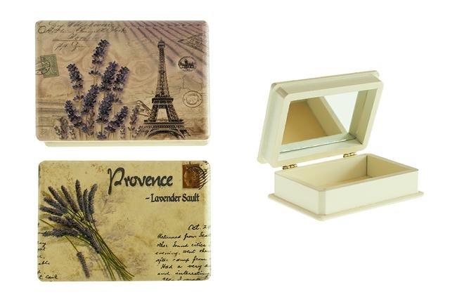 Krabička levandule obdélník PARIS
