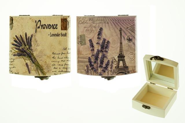 Krabička se zrcadlem čtverec PARIS