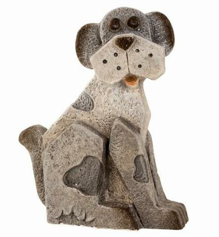 Pes MG šedý menší