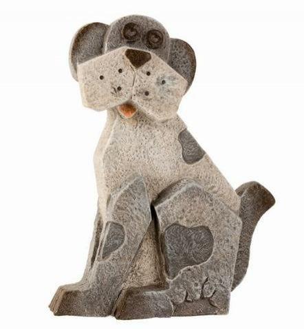 Pes MG šedý větší