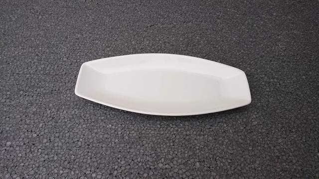 Tácek bílý 30x14cm