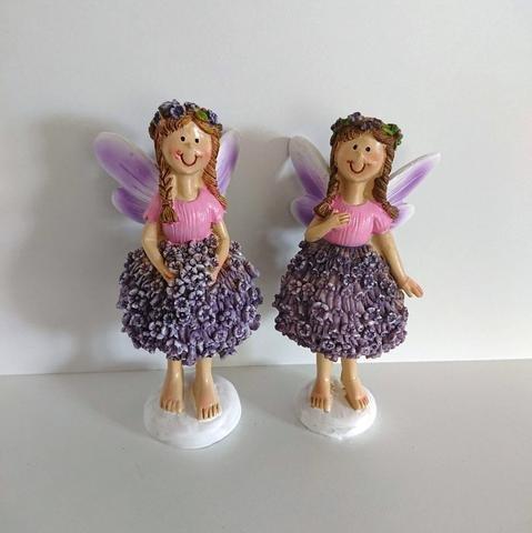 Víla levandulové šaty menší