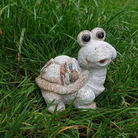 Želva design kamínky