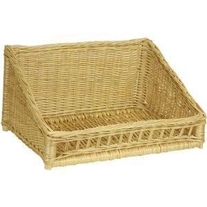 basket white light willow stick 49x37/10-25,5cm 291566