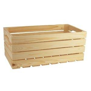Dřevěná bedýnka 097029