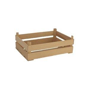 Dřevěná bedýnka přírodní, 097017