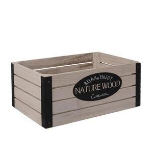 Dřevěná bedýnka RUSTIC O0009