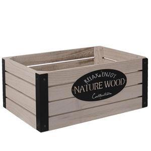 Dřevěná bedýnka RUSTIC O0012