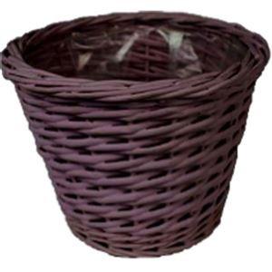 květináč tm. fialový  dia 21 cm P0020-11