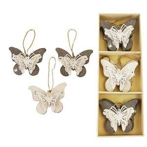 Motýlci v boxu, 6 ks K0415