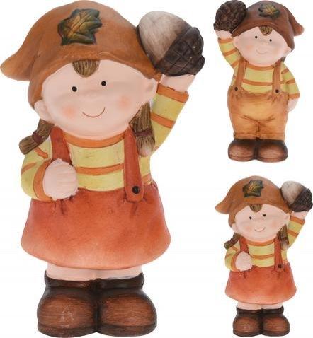Podzimní děti keramika menší