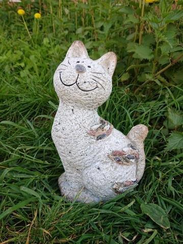 Kočka design kamínky