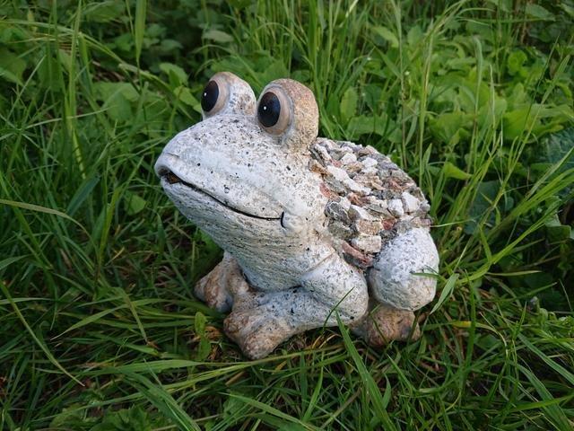 Žába design kamínky