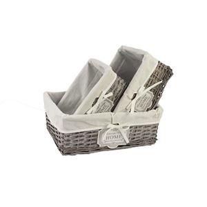 Zásuvka šedá s látkou S/3 p1378