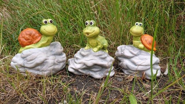 Zvířátka na kameni 3 druhy