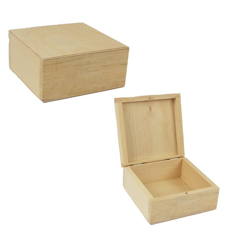 Dřevěný box malý 097072/M