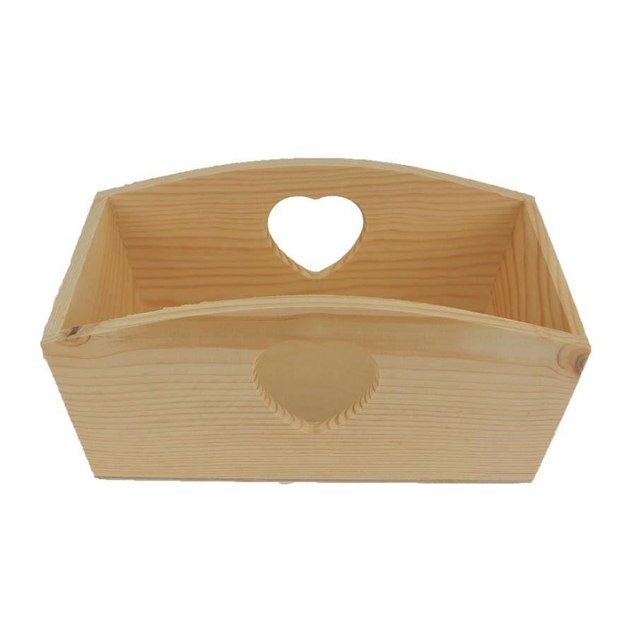 Dřevěná bedýnka 097066/V
