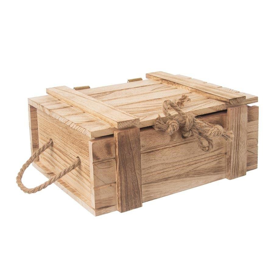Dřevěná truhla dárková O0014