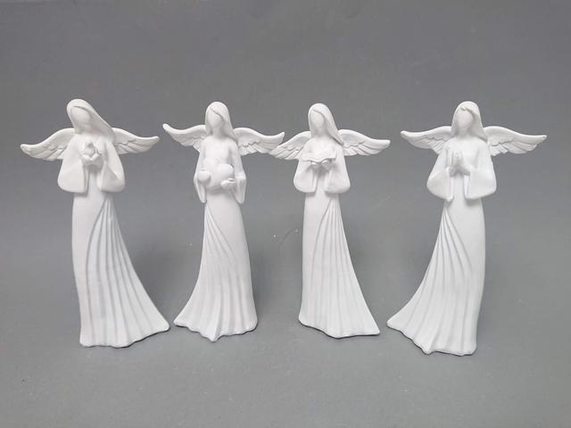Anděl bílý 17cm