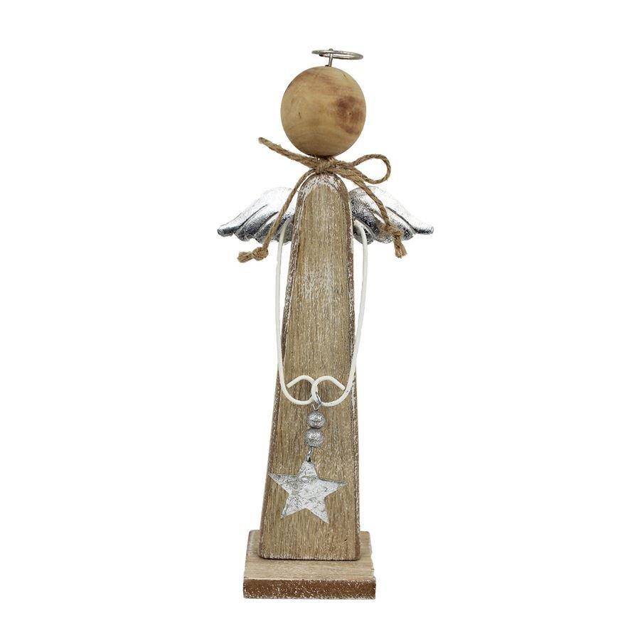 Dřevěný anděl malý D1638/1